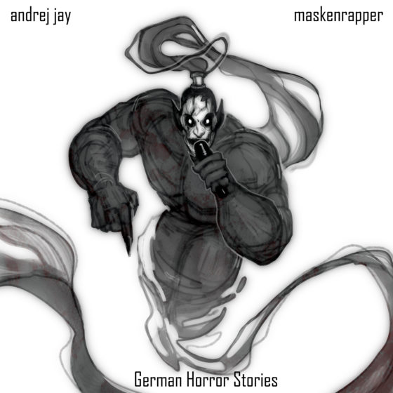 andrej jay maskenrapper artwork ajelodraws