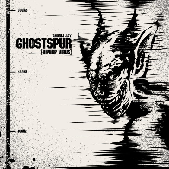 andrej jay Ghostspur (HipHop-Virus) Artwork by rizkiali