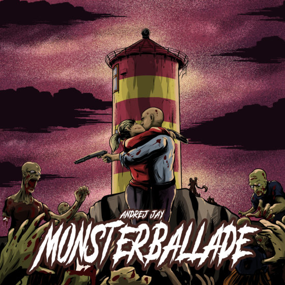 andrej jay Monsterballade (Zombieapokalypse Jetzt) Artwork by rizkiali