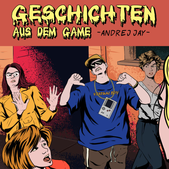 andrej jay Geschichten aus dem Game OUT NOW Artwork by rizkiali