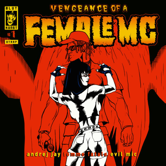 Female MC (femme fatale) von Andrej Jay OUT NOW Artwork by Dancubs