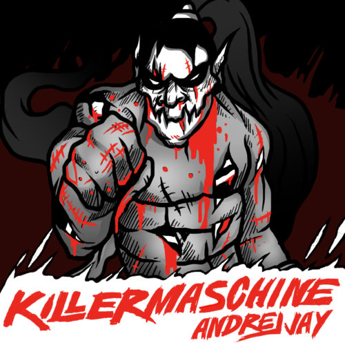 andrej jay feat Philipp Bodner KILLERMASCHINE out now! Artwork by Dancubs