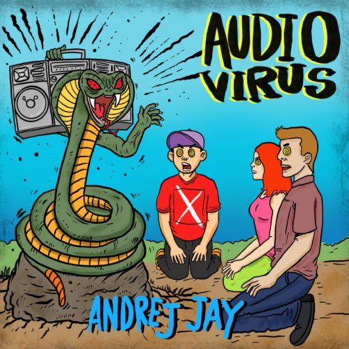 andrej jay AUDIO VIRUS EP out now! Artwork by Aku Napie